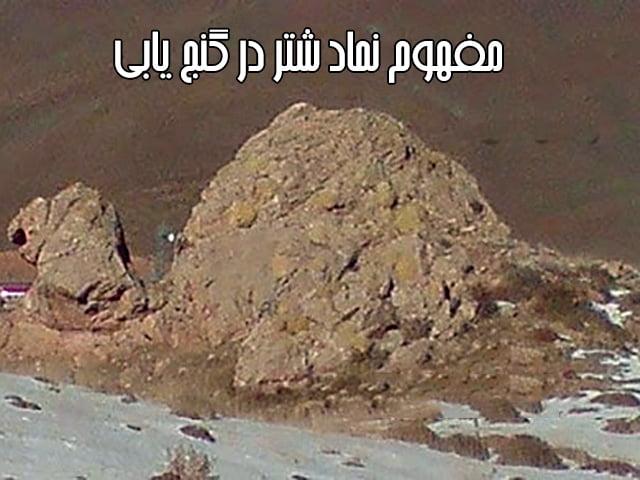 نشانه شتر در گنج یابی