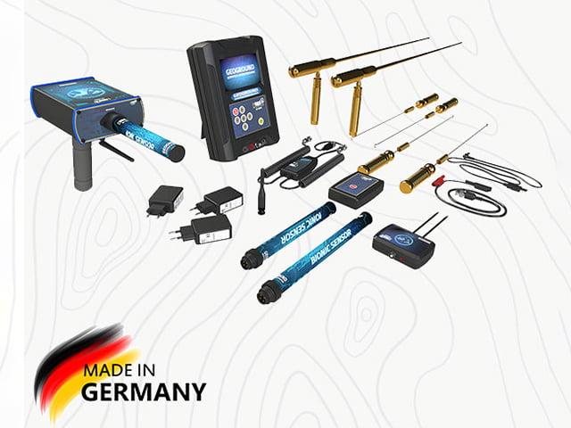 فلزیاب COBRA GX 8000 ساخت آلمان